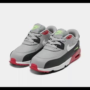 Kids' Toddler Nike Air Max 90 Leather Shoes sz 7c